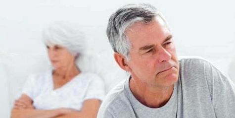 Erektionsstörungen bei Mann in den Wechseljahren