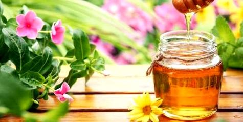Honig heilt Haut