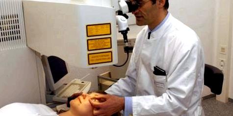 Augenlaser kann Kurzsichtigkeit behandeln