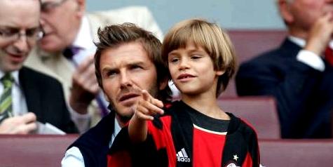 Romeo Beckham, der Sohn von Victoria und David Beckham, leidet unter Epilepsie