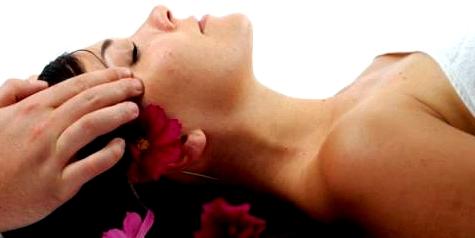 Kopf-Massage