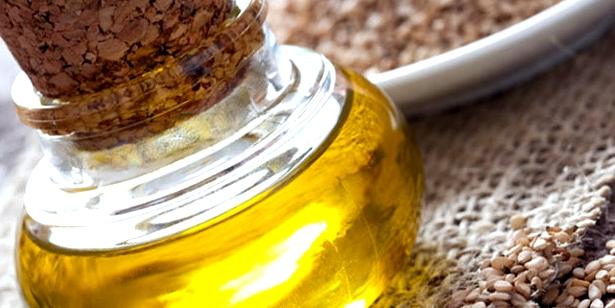 Massage-Öl: Sesam