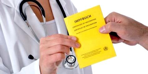Impfausweis für Impfungen gegen Kinderkrankheiten