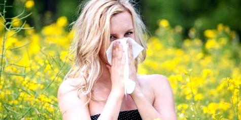 Pollen-Geplagte