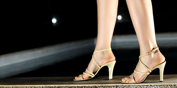 Hohe Schuhe sind Schuld am Hallux valgus