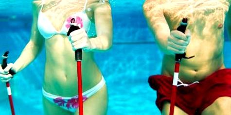 Bewegung im Wasser ist eine Wohltat für die Venen und eine gute Thrombose-Vorbeugung.