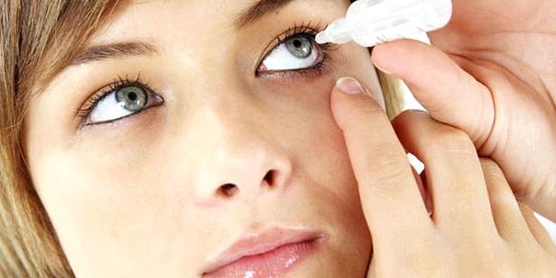 Augentropfen gegen Pollenallergie
