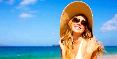 Mit Sonnenschutz Pigmentflecken vorbeugen