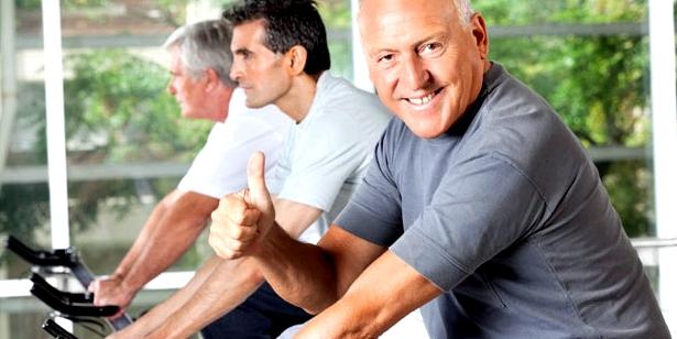 Altersherz mit Sport vorbeugen