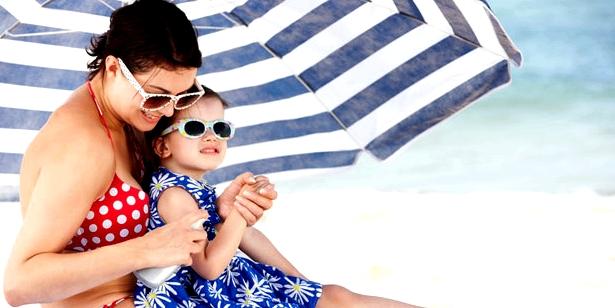 Milien mit Sonnenschutz vorbeugen
