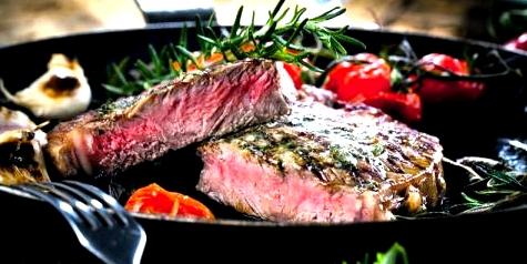 Eisenhaltiges Lebensmittel: Rindfleisch