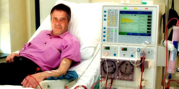 Dialyse zur Behandlung eines Nierenversagens