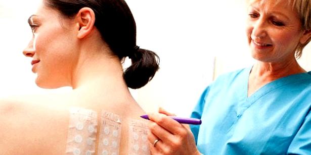 Hauttests zur Diagnose von Allergien