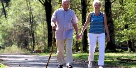 Spazierengehen lässt den Blutdruck ansteigen