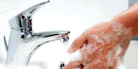 Händewaschen gegen Infektionen