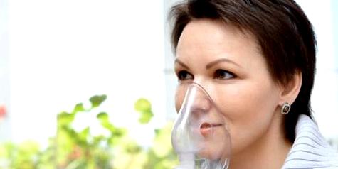 Inhalation bei der Behandlung von Mukoviszidose-Patienten