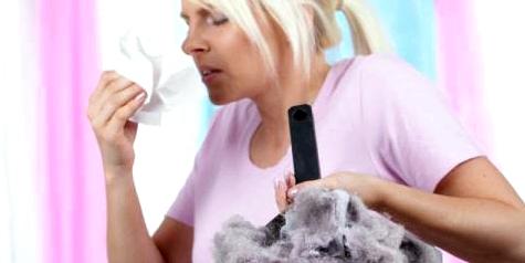 Eine Milbenallergie wird durch Hausstaub ausgelöst