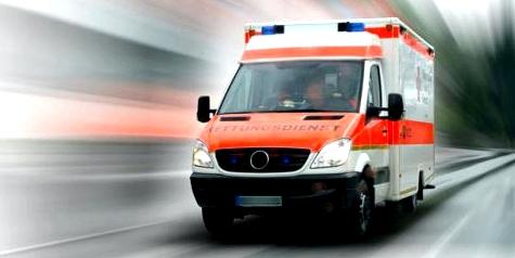 Bei einer Unterkühlung sofort einen Krankenwagen rufen