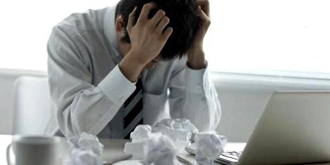 Gastritis durch Stress