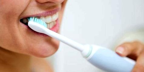 2x5 Minuten die Zähne am Tag putzen