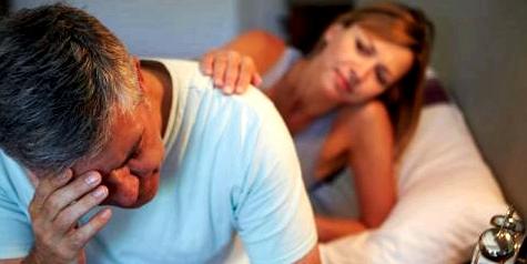 Mann mit Prostataproblemen