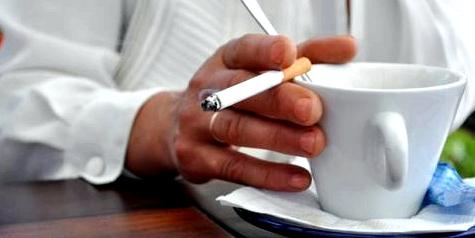 Rauchstopp: Versuchen Sie Rituale zu durchbrechen