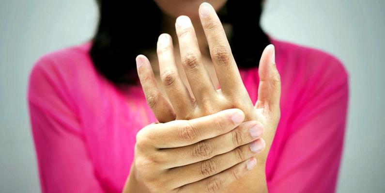 Karpaltunnelsyndrom-Symptome
