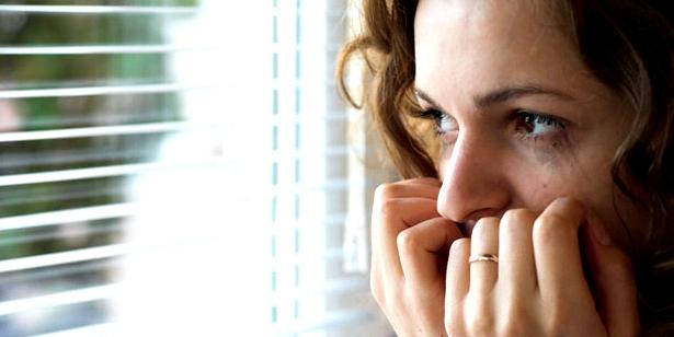 Angst und Trauer einer Schizophreniekranken