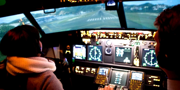 Flugsimulator gegen Flugangst