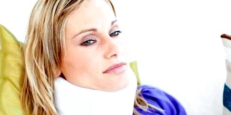 Keine Halskrause nach Schleudertrauma