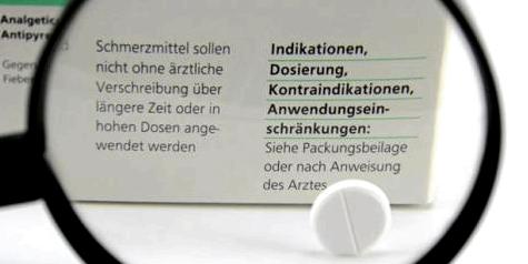 Aspirin ohne ärztliche Rücksprache nicht länger als drei Tage nehmen